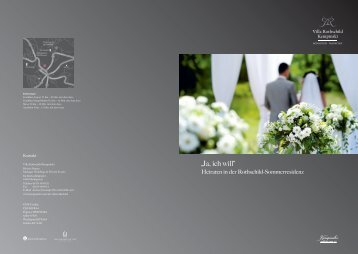 Hochzeitsfolder (PDF) - Kempinski Hotels