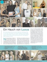 Ein Hauch von Luxus - Beauty Tower