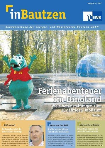 Kundenzeitung 2-2011 - Beteiligungs- und Betriebsgesellschaft ...