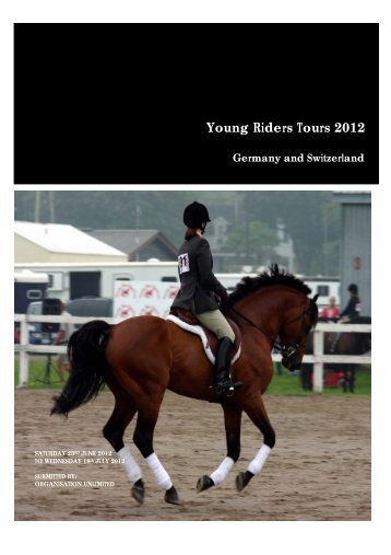 Young Riders Tours 2012