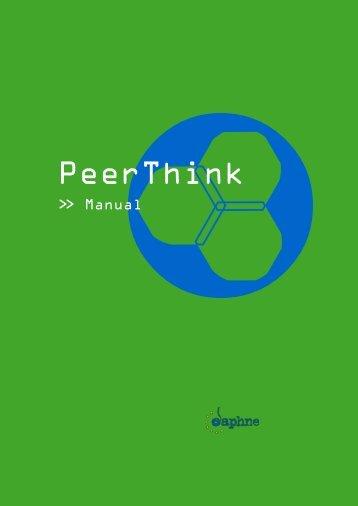 Download the english manual (pdf) - Peerthink