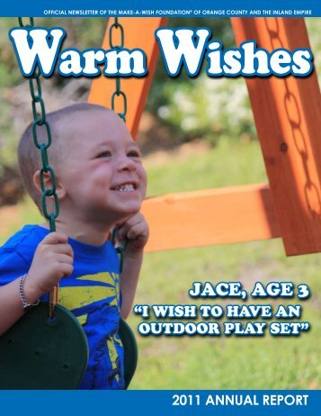 2011 annual report - Make-A-Wish Foundation of Orange County ...