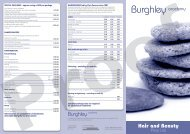 SPECIAL PACKAGES - burghley academy
