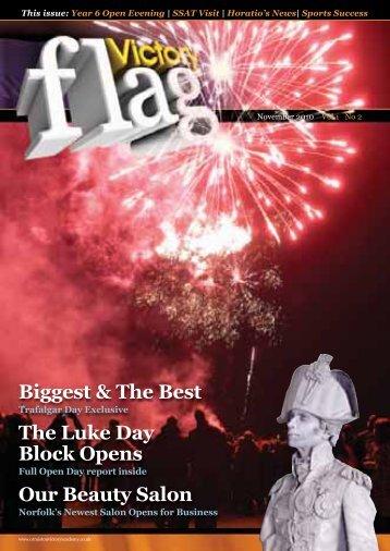 Biggest & The Best The Luke Day Block - Ormiston Victory Academy
