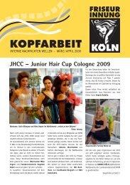 Junior Hair Cup Cologne 2009 - Friseurinnung Köln