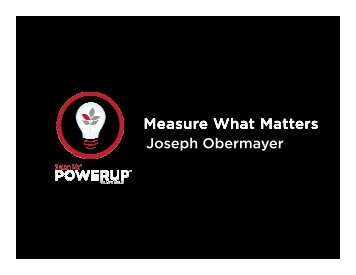 Measure What Matters - Salon Software