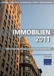 Geschlossene Immobilienfonds - WMD Brokerchannel
