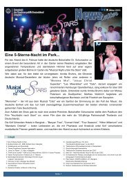 NewsletterMaerz2010 - Bangkok and Ibiza, the places to be