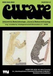 ISSN 0344-8622 33(2010)1+2 - Arbeitsgemeinschaft Ethnomedizin