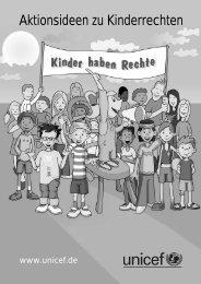 AKTIONEN zu Kinderrechten - Das starke Angebot