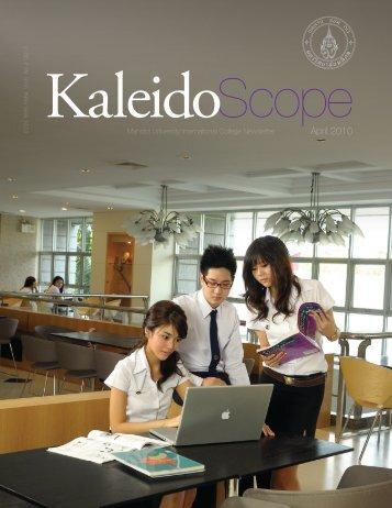 kaleidoscope volume 2.10 - Mahidol University International College