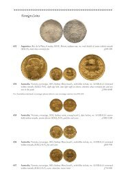 Foreign Coins - St James's Auctions