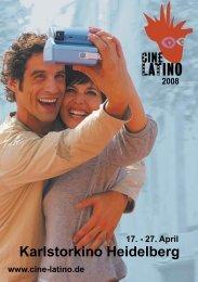 Mag sein, dass Sie kein Blut sehen können. Aber ... - Festival Latino