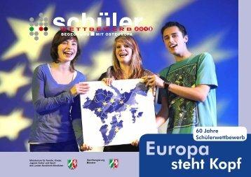 """Broschüre - Schülerwettbewerb """"Begegnung mit Osteuropa"""""""