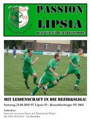 Knautkleeberger SC 1864 - SV Lipsia 93 Leipzig-Eutritzsch