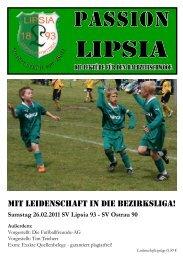 Heft 8 - SV Lipsia 93 Leipzig-Eutritzsch