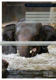 Annual Report 2007 - Taronga Conservation Society Australia