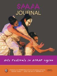 Traditional Theatre in Southeast Asia - Southeast Asian Center for ...