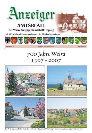 gemeinde weira - VG Oppurg