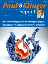 Heft 35/10 Download PDF - Paul-Klinger-Künstlersozialwerk eV
