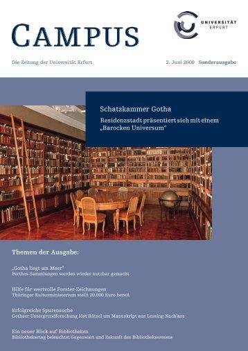 25. Juni 18.15 Uhr (Campus Erfurt) - Digitale Bibliothek Thüringen