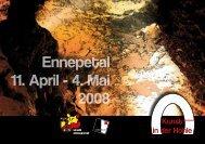 Ennepetal 11. April - 4. Mai 2008 - Kunstraum-EN
