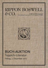 Buch-Auktion - Rippon Boswell & Co.