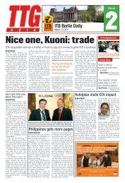 ITB Berlin Daily - TTG Asia