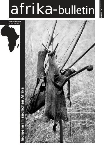 Literatur - Afrika-Komitee