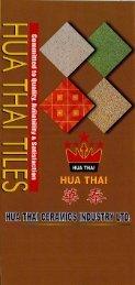 HUA Thai Tiles - TILESCRAFT INTERNATIONAL