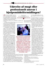 Svar til Nina Bindslev og Bodil Pedersen - Hjælpemiddelinstituttet