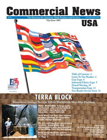 TERRA BLOCK - Commercial News USA
