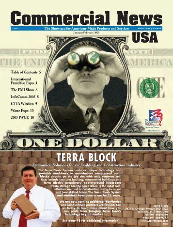TERRA BLOCK - Commercial News USA