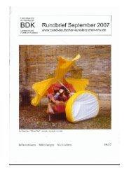 skulptur projekte münster 07 - Bund-Deutscher-Kunsterzieher-NRW