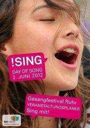 download veranstaltungsprogramm (pdf, 37 mb) - SING - DAY OF ...