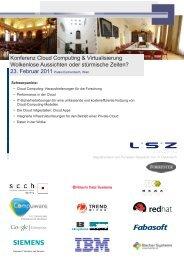 Konferenz Cloud Computing & Virtualisierung ... - LB-systems