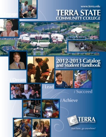 2012-2013 Terra State Community College Catalog