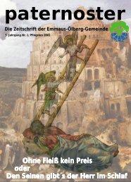 Die gesamte Ausgabe als pdf-Datei (660k) - Emmaus-Ölberg ...