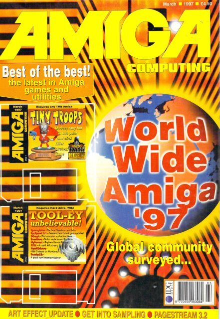 Amiga Computing Commodore Is Awesome