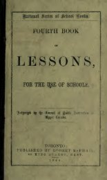 Fourth book of lessons for the use of schools