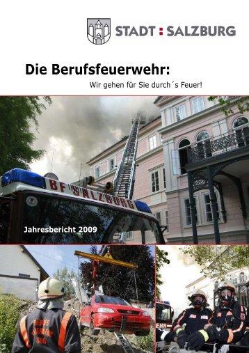 Wir gehen für Sie durch´s - Berufsfeuerwehr Salzburg