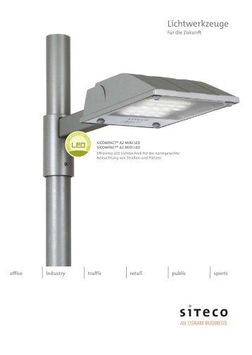 SiCOMPACT® A2 MINI/MIDI LED - Siteco Beleuchtungstechnik GmbH