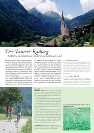 Der Tauern-Radweg Radpartie an Salzach und Inn durch das ...