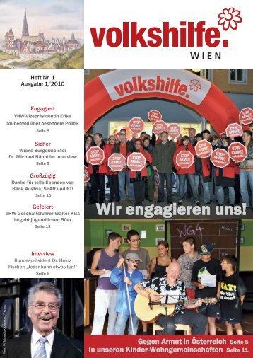 VHW 1_10 Seiten 1-8_VHW 1-8.qxd - bei der Volkshilfe Wien