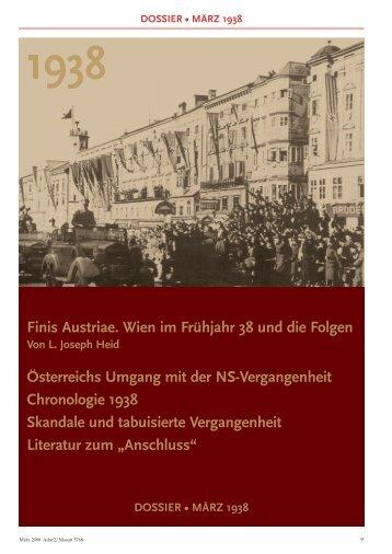 dossier • märz 1938 - Israelitische Kultusgemeinde Wien
