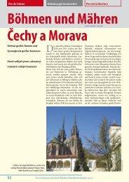 Böhmen und Mähren Čechy a Morava - Vienna Guide Service