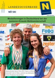 Medaillenregen in Deutschland bei der Junioren-Grasski ...