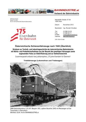 Verband der Bahnindustrie