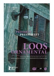 Presseheft ›Loos ornamental‹