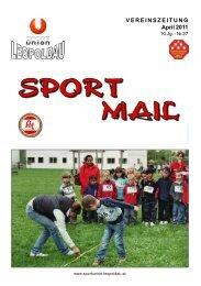 VEREINSZEITUNG April 2011 - Sportunion Leopoldau